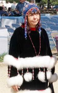 Alaskan Lady Beaded Headpiece