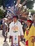 Aztec Couple