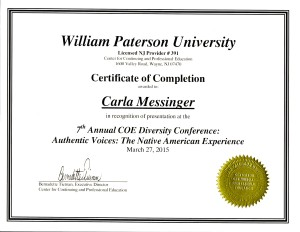Certificate WP University