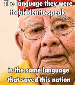Code Talkers saved USA