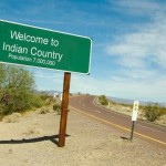 Welcome to Indian Country sign