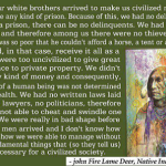 Lame Deer quote