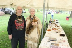 Allan & Carla Messinger at Catasaqua Fall Fest -credit Catasaqua Press